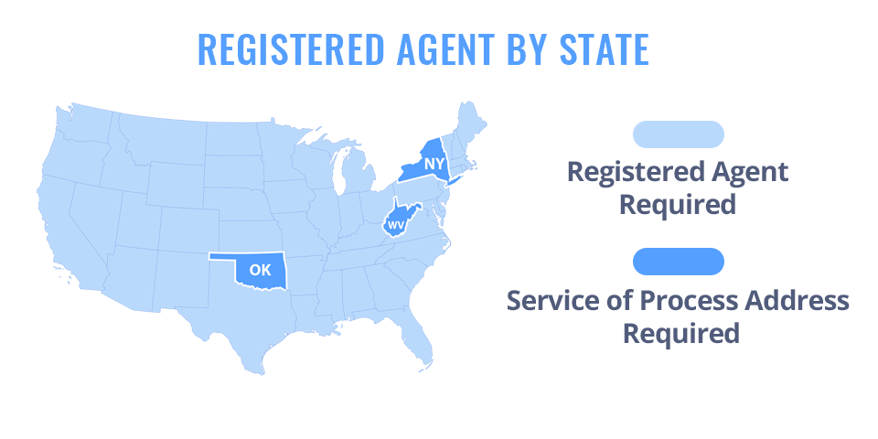 Registered Agent by State